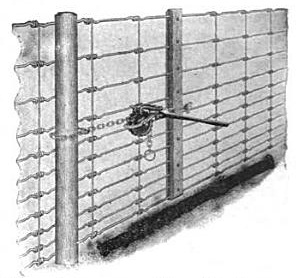 Delighted Woven Wire Fence Stretcher Bar Ideas - Electrical ...